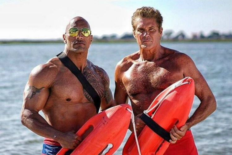 Dwayne Johnson Baywatch | Image for InUth.com