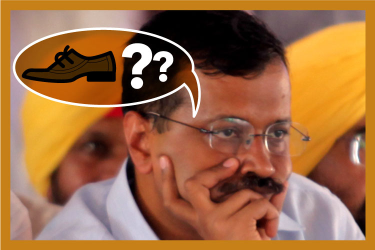 Arvind Kejriwal asks the all important question: Joota churai ke paise kaise denge?