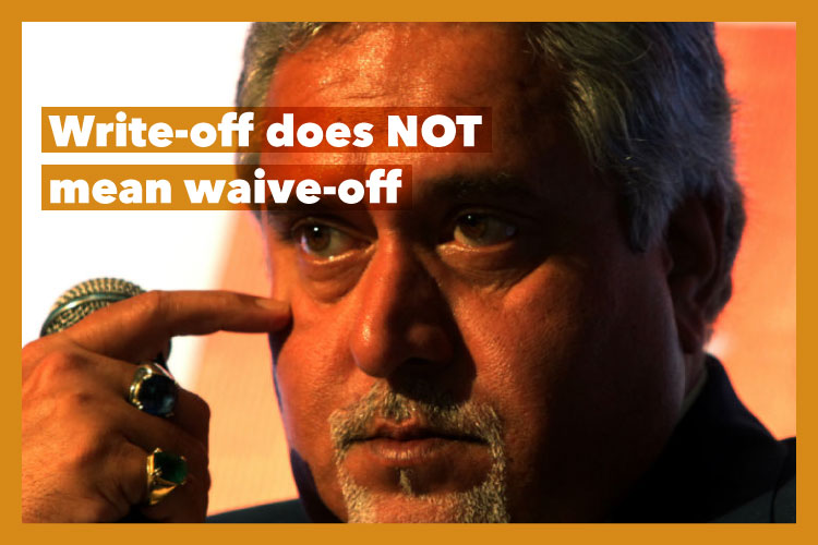 SBI has done nothing WRONG in writing off Mallya's loan. Here's why
