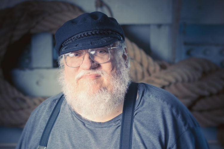 George RR Martin Game of Thrones | Wikipedia Image for InUth.com