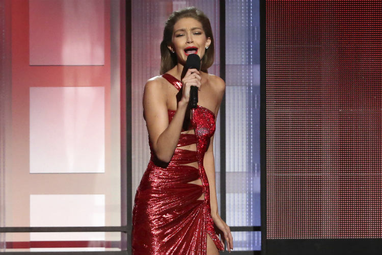 Gigi Hadid mocks Melania Trump | AP Image for InUth.com