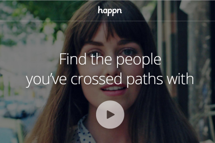 Happn, online dating app