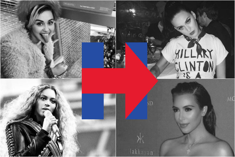 Katy Perry, Adele, Madonna are supporting Hillary Clinton! What about you?