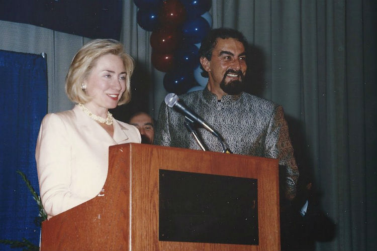 Hillary Clinton Kabir Bedi | Twitter Image For InUth.com