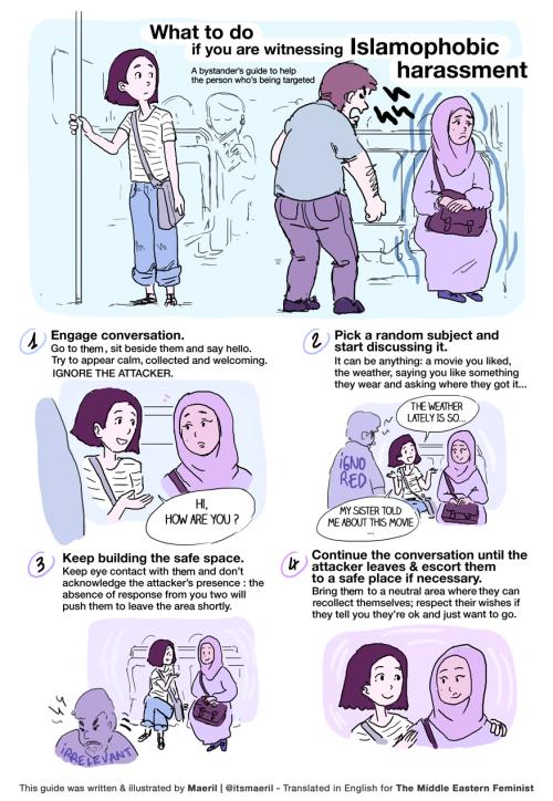 Islamophobic harassment
