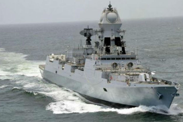 INS Chennai commissioned into IndianNavy
