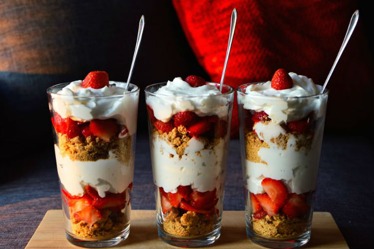 How about having ice-cream forbreakfast?