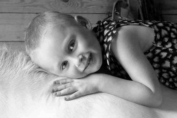 Jessica Whelan is suffering from fourth-stage Neuroblastoma. (Photo: Facebook/Andy Whelan)