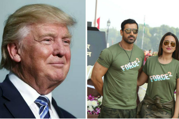 Donald Trump wins US polls. John Abraham, Sonakshi Sinha and Tahir Bhasin have a view too