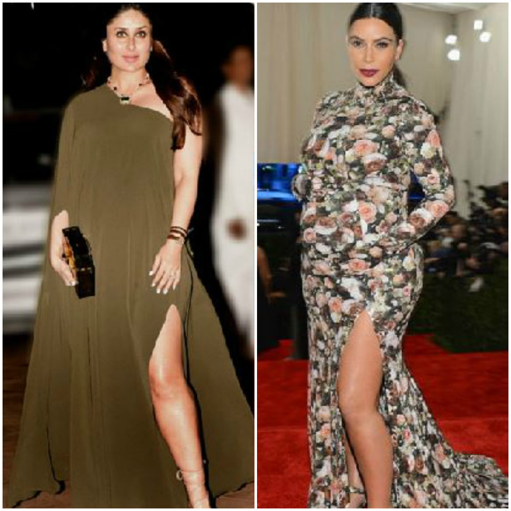 Kareena Kapoor and Kim Kardashian
