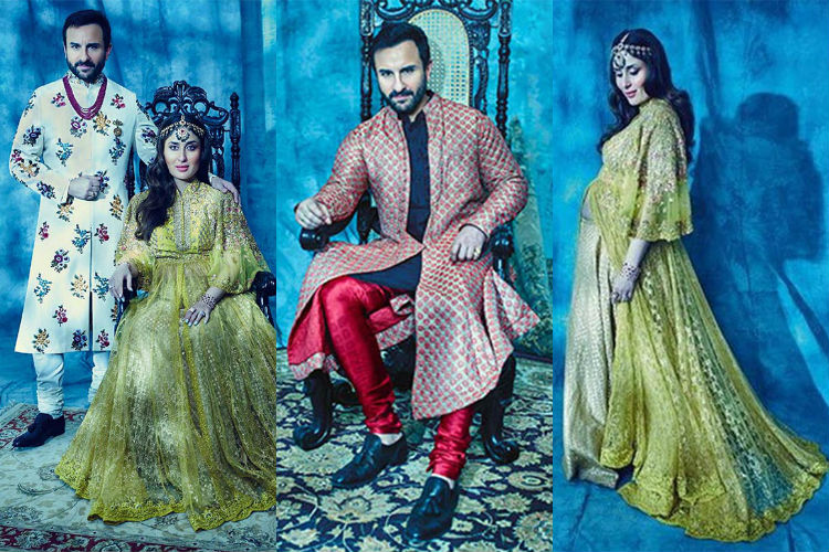 The latest photoshoot of Kareena-Saif is a royal treat to the eyes
