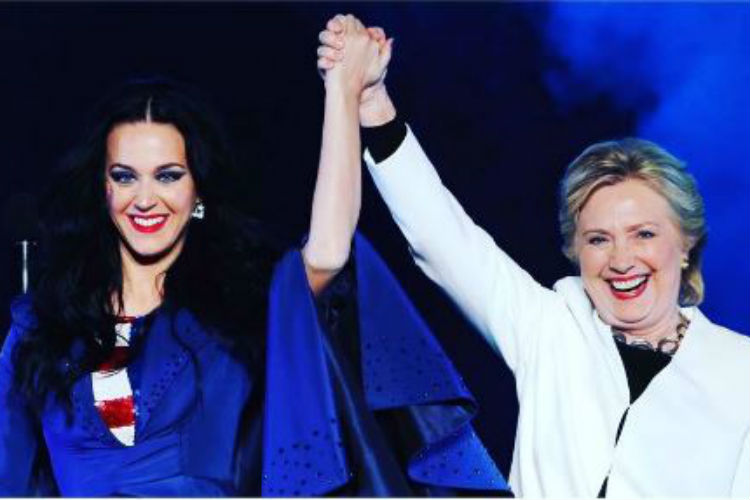 Katy Perry Hillary Clinton | Instagram Image For InUth.com