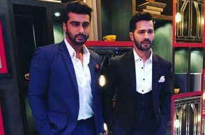 Varun Dhawan, Arjun Kapoor, Koffee with Karan season 5