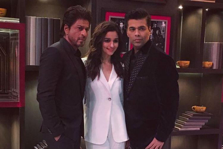 Shah Rukh Khan, Alia, Koffee with Karan