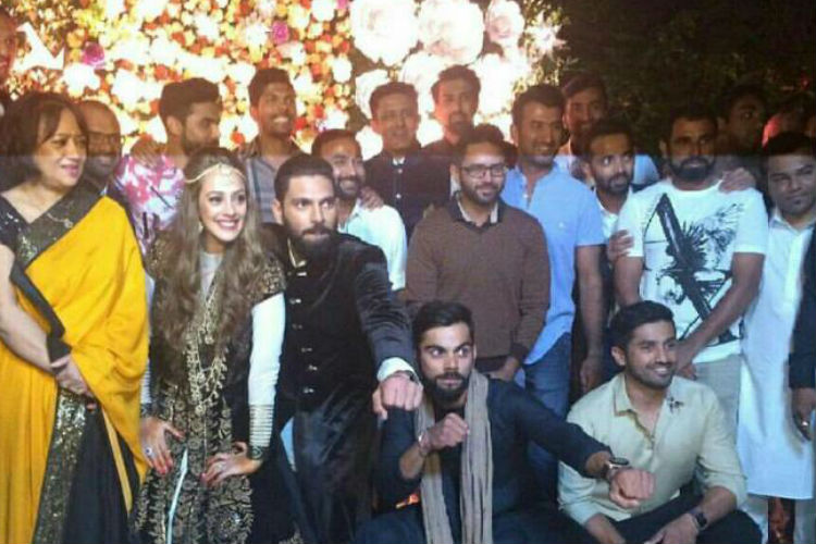 Watch video: How Virat Kohli danced on the eve of Yuvraj Singh-Hazel Keech's wedding
