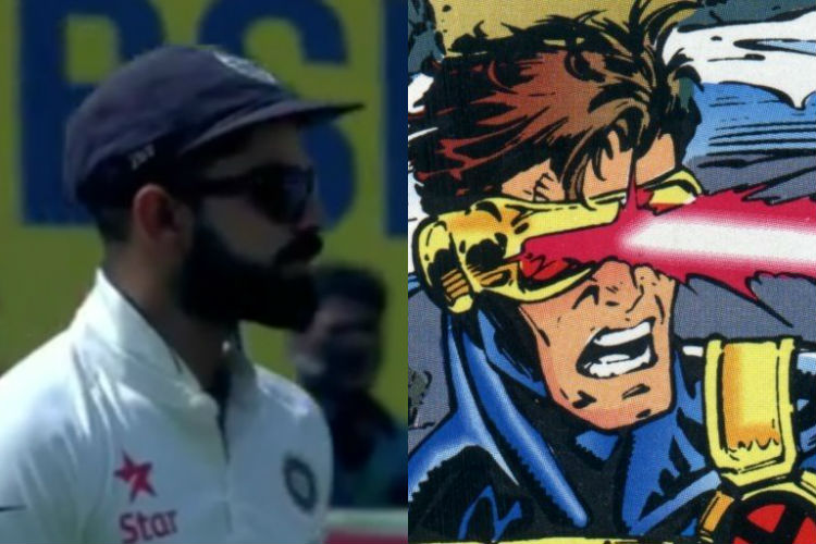Hard taskmaster Virat Kohli's stare to Ravindra Jadeja makes him fall in line