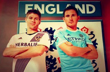 Lampard, Gerrard, football, England, Three Lions