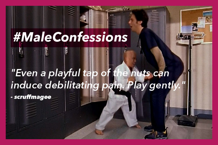 Male Confessions | Image For InUth.com