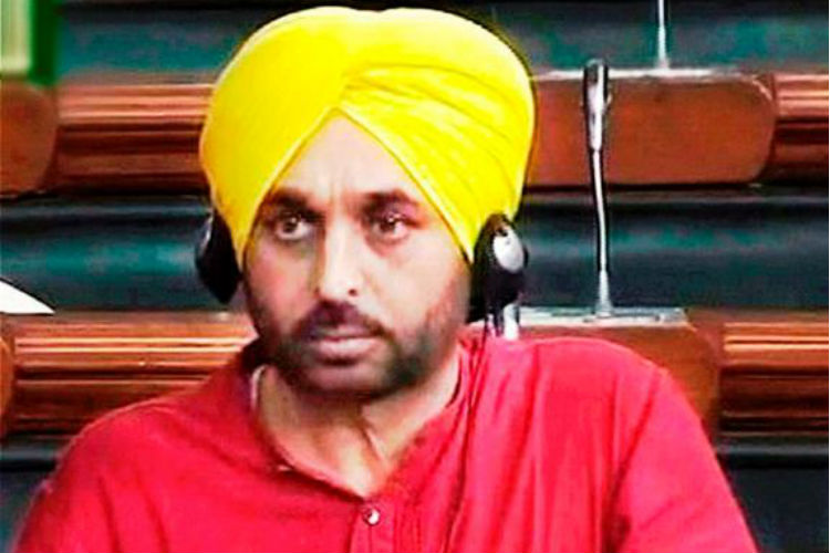Parliament video: Lok Sabha committee finds Bhagwant Mannguilty