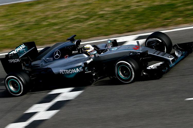 Hamilton, Rosberg, F1
