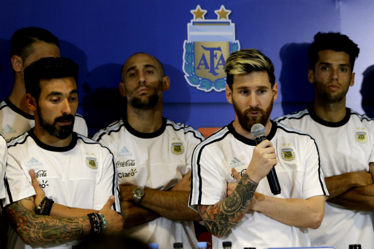 How Messi is leading Argentina footballer's media boycott over false drug usage allegation