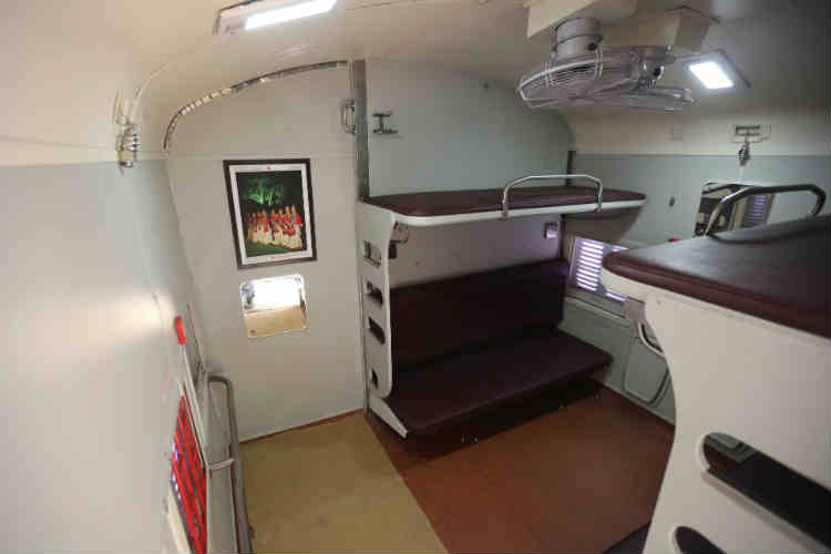 AC-III tier travel to turn comfy and hi-tech with GPS system, tea and coffee vending machines