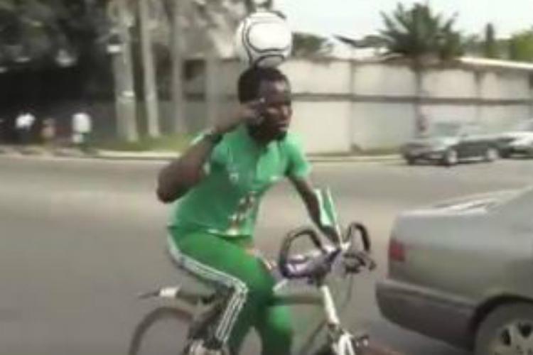 Guinness World Record, football, Nigerian amateur footballer, Harrison Chinedu
