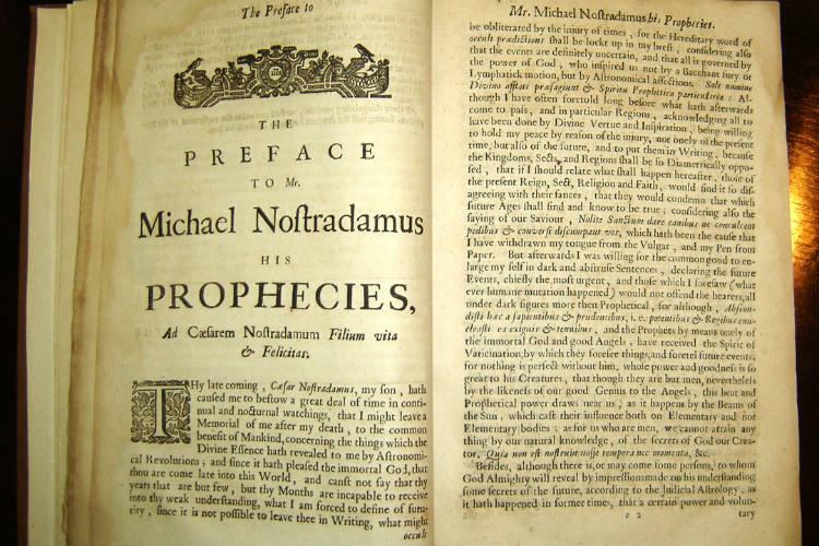 Nostradamus Prophecies | Wikipedia Commons Image For InUth.com