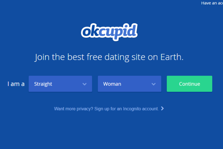 OkCupid, online dating app