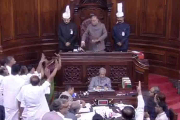 Parliament Winter Session Day 4 live: Rajya Sabha adjourned for the day