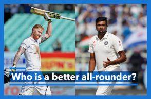 R Ashwin, Ben Stokes, Ind vs England
