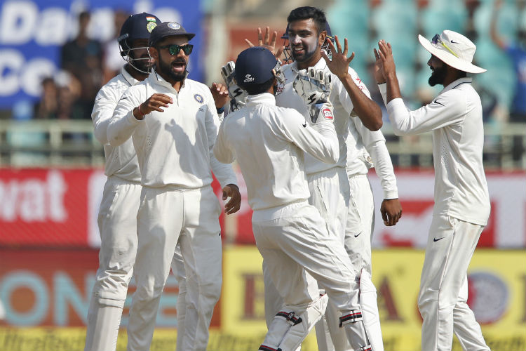 India crush England by 246 runs to take a 1-0 lead in the five match Test series