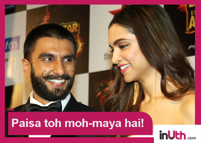 Did Ranveer really say he deserves less money than Deepika in Padmavati?