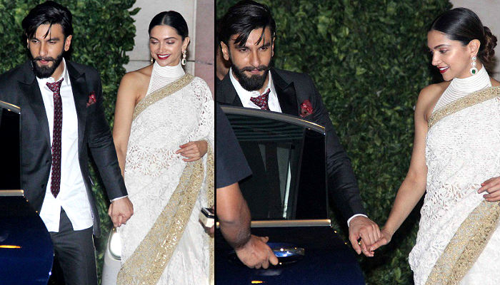 Ranveer Singh and Deepika Padukone Twitter photo for InUth.com