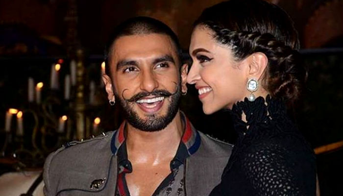 Ranveer Singh and Deepika Padukone Instagram photo for InUth.com