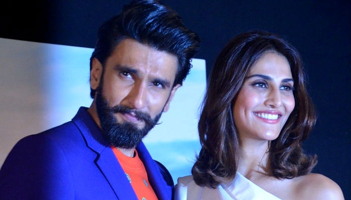 Ranveer Singh Vaani Kapoor at Befikre event IANS photo for InUth.com