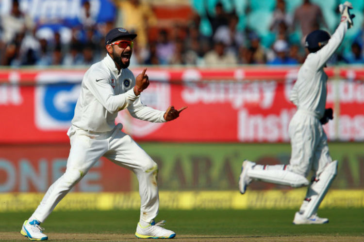 England run a danger of follow-on as India rattle their top order