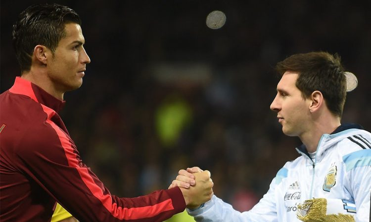 Cristiano Ronaldo, Lionel Messi, Champions League, goals, record, football