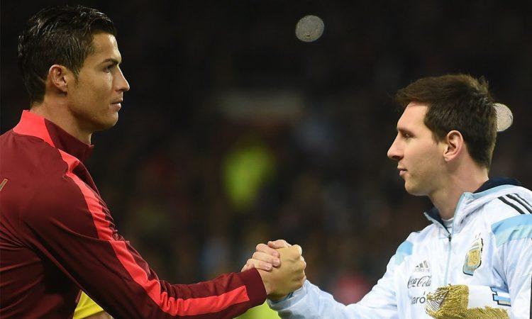Cristiano Ronaldo, Lionel Messi, Champions League, goals, record, football