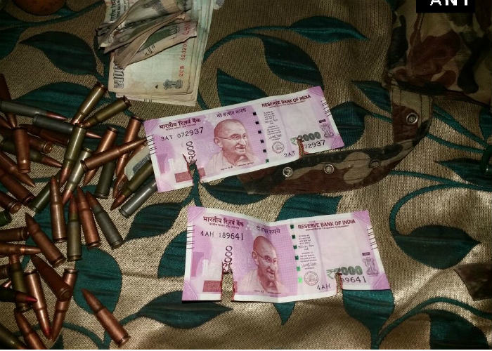 New Rs 2000 notes have already reached terrorists in Jammu and Kashmir