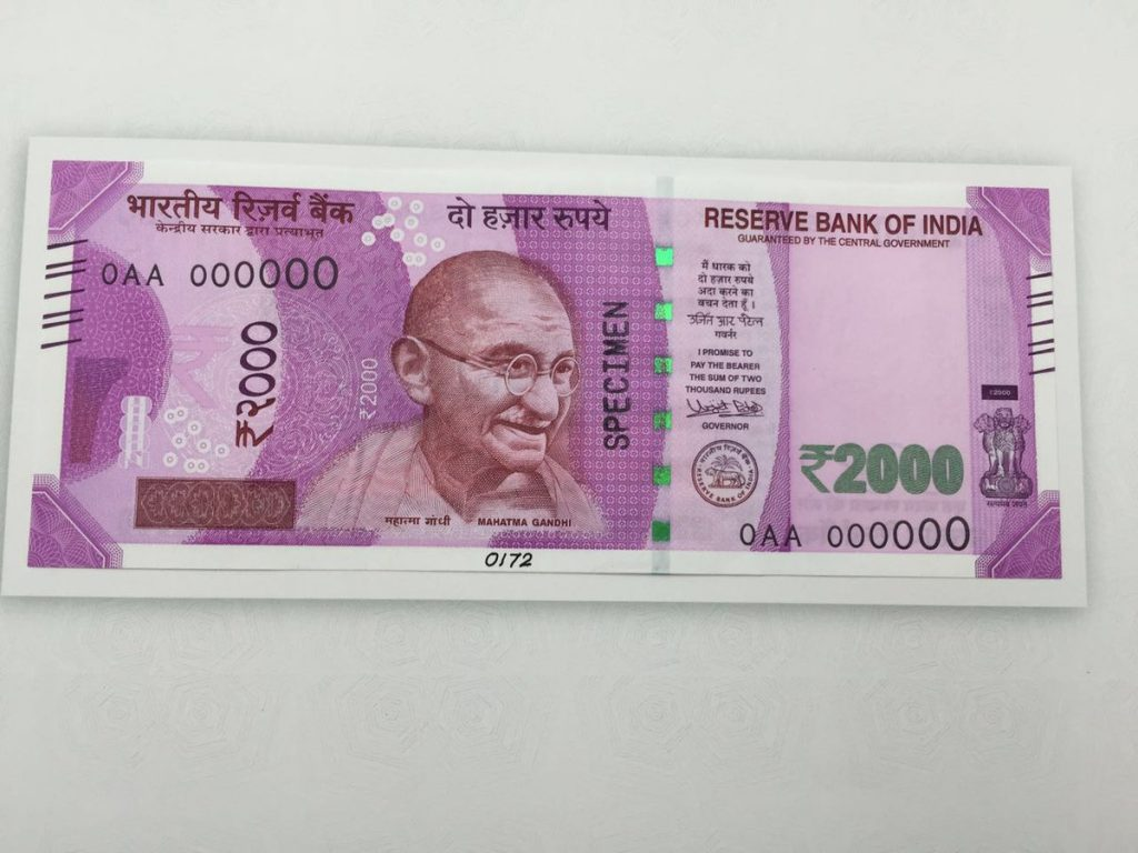 Rs 2000 note, RBI