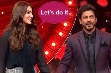 Shah Rukh Khan and Anushka Sharma on Yaaron Ki Baraat YouTube screen grab for InUth.com