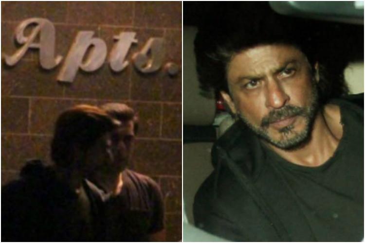 Photos: Shah Rukh Khan, Salman Khan party till weehours