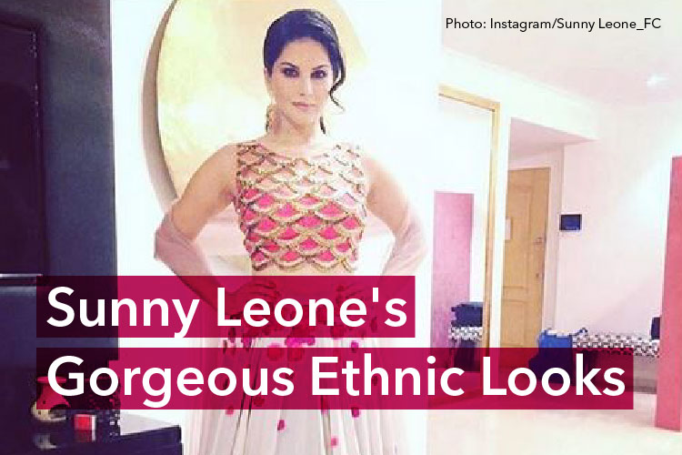 15 Times Sunny Leone nailed the 'Desi Belle' look