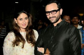 Kareena Kapoor Khan, Saif Ali Khan Instagram photo for InUth.com