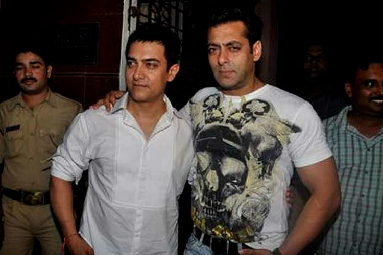 Salman Khan and Aamir Khan Express photo for InUth.com