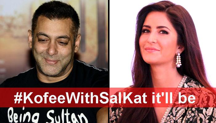 Salman Khan-Katrina Kaif on Koffee With Karan? Badiyahai!