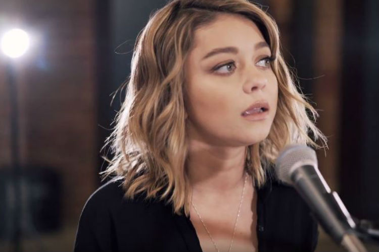 Sarah Hyland Boyce Avenue Closer | YouTube Image For InUth.com