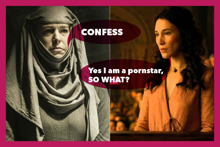 Septa Unella Confess Shae Game of Thrones | Image For InUth.com