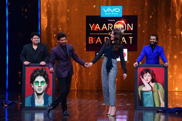 Shah Rukh Khan Anushka Sharma Yaaron Ki Baarat | Express Archive Image For InUth.com